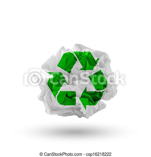 recycling concept - csp16218222