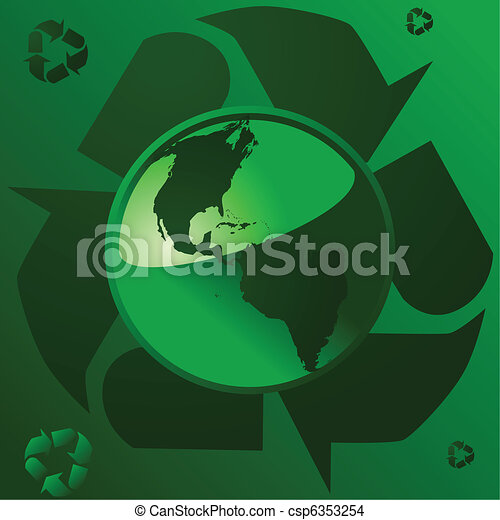 Recycling Earth 1 - csp6353254
