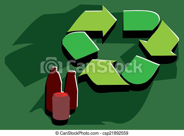 recycling facility - csp21892559