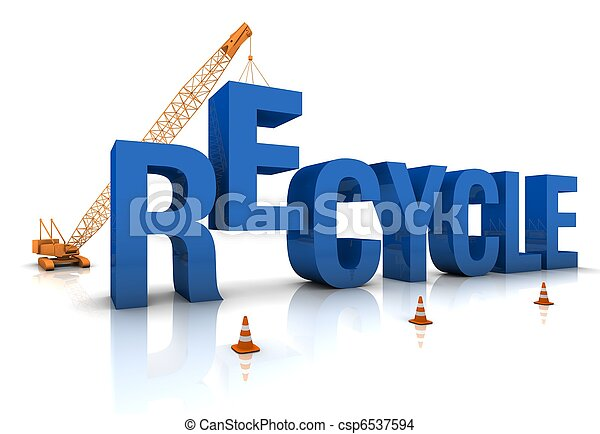 Recycling - csp6537594
