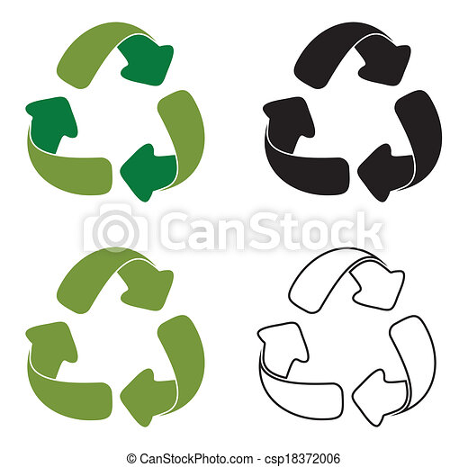Recycling Symbols Recycling Symbols Vector Clipart Search
