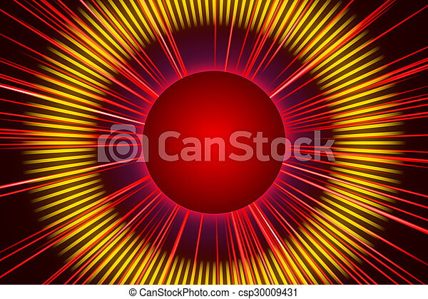 red abstract background, light - csp30009431