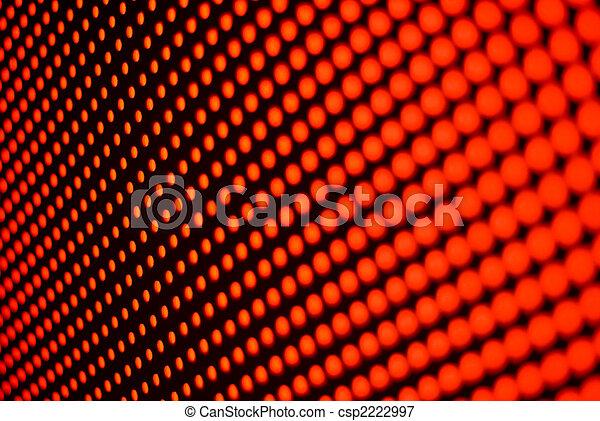 red abstract circles 1 - csp2222997
