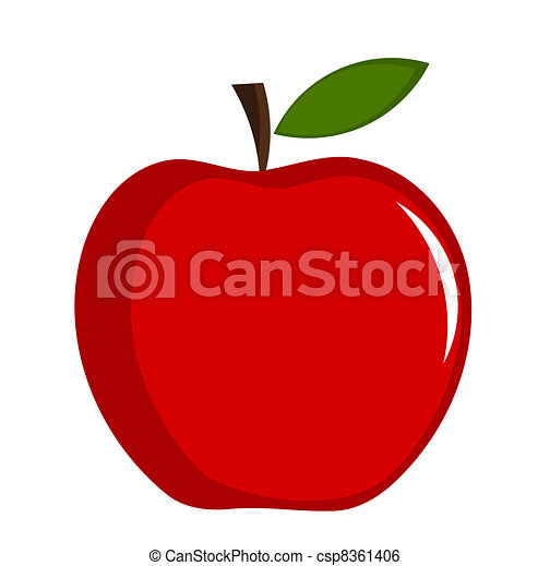 Red apple - csp8361406