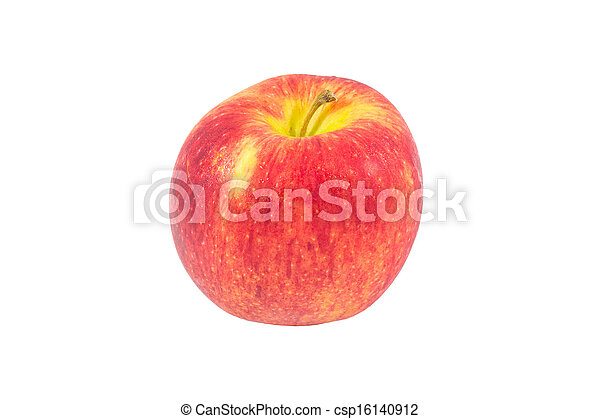 Red Apple isolated on white - csp16140912
