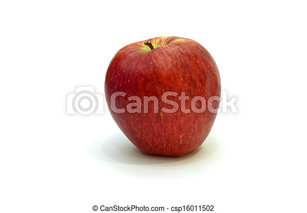 Red apple isolated on white - csp16011502