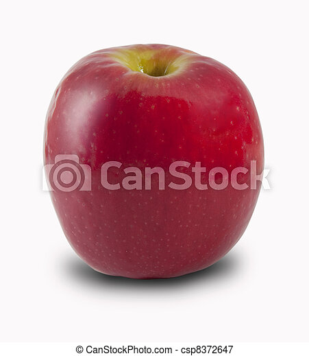 Red apple - csp8372647