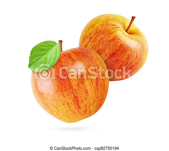 red apples isolated - csp82750194