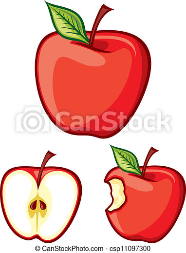 red apples - csp11097300