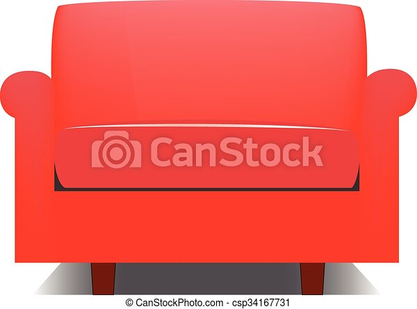 Brilliant Red Armchair Home Interior And Landscaping Mentranervesignezvosmurscom