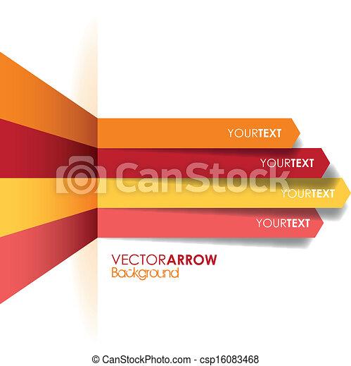 red arrow line background - csp16083468