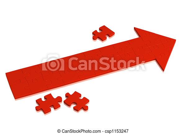 Red arrow - csp1153247