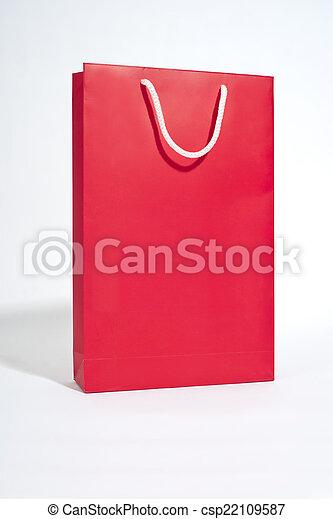 Red bag - csp22109587