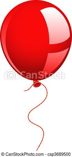Red balloon - csp3689500
