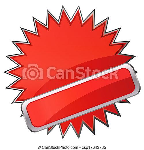 Red banner - csp17643785
