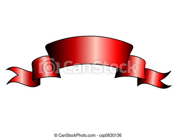 Red banner - csp0630136