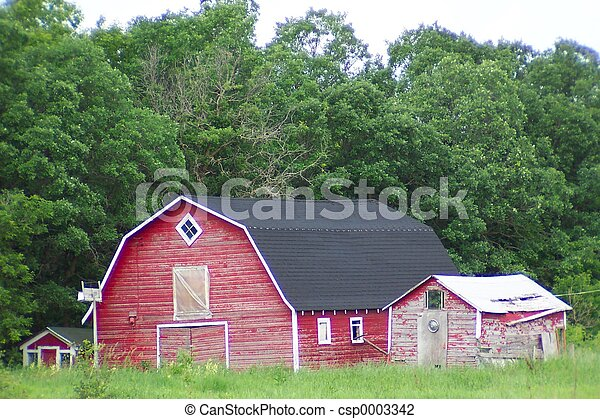 Red barn#2 - csp0003342