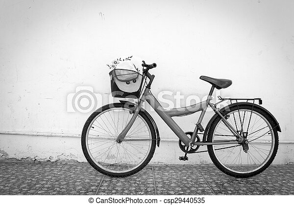 red bicycle - csp29440535