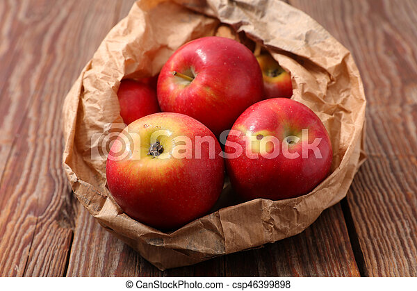 red biologic apple - csp46399898