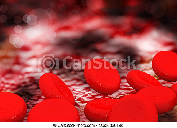Red Blood Cells - csp28830198
