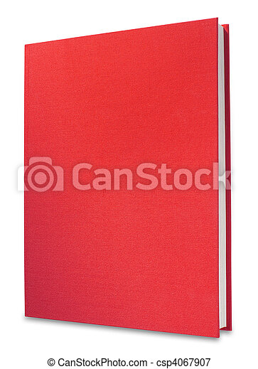 Red book, isolated - csp4067907