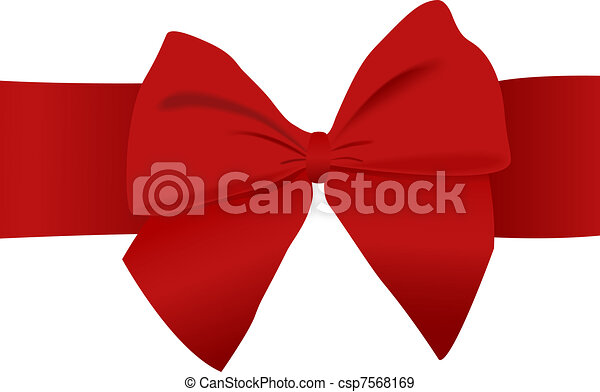 Red Bow - csp7568169