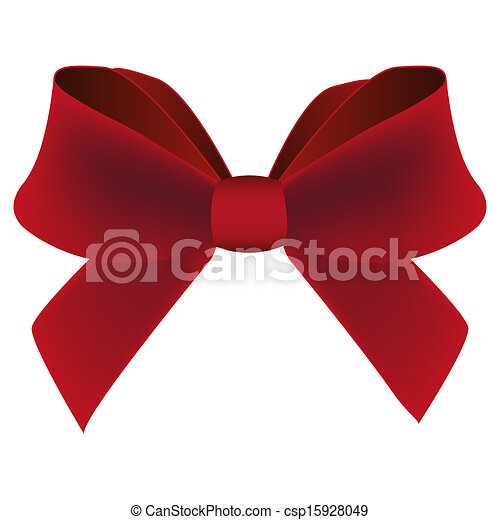 Red bow - csp15928049