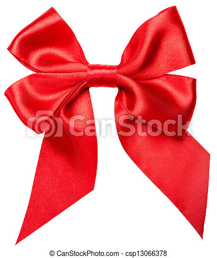 Red bow - csp13066378