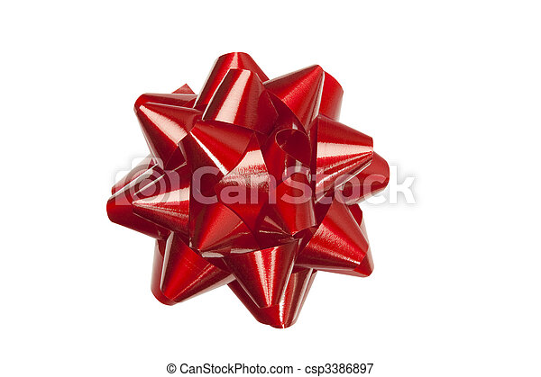 Red Bow - csp3386897