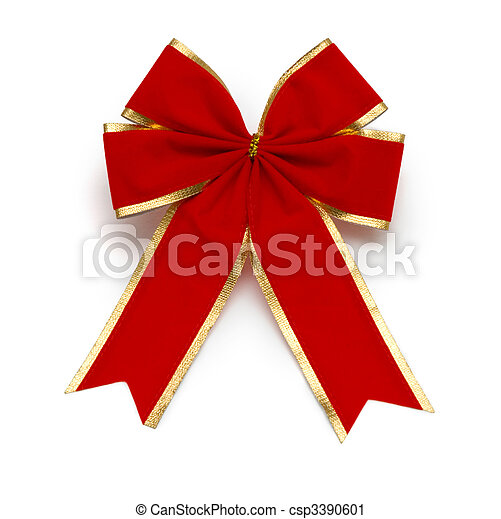 red bow - csp3390601