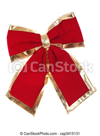 red bow - csp3415131