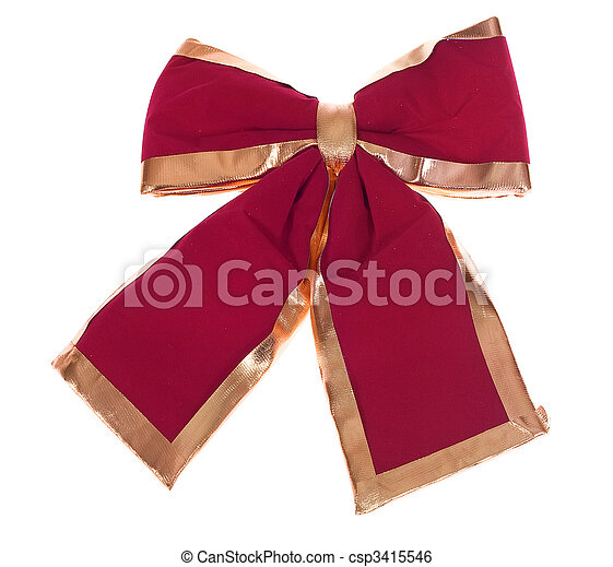 red bow - csp3415546