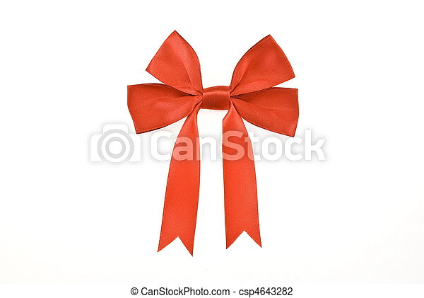 Red bow - csp4643282