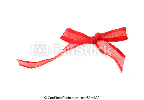 red bow - csp6214630