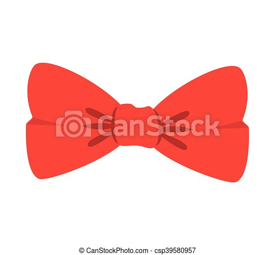 red bow tie - csp39580957