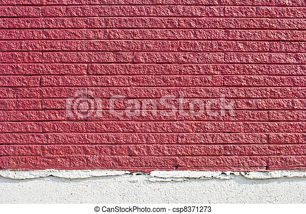 red brick wall texture - csp8371273