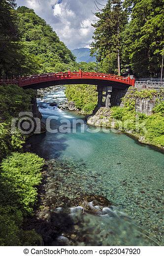 Red Bridge - csp23047920