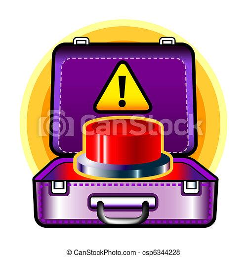 red button - csp6344228