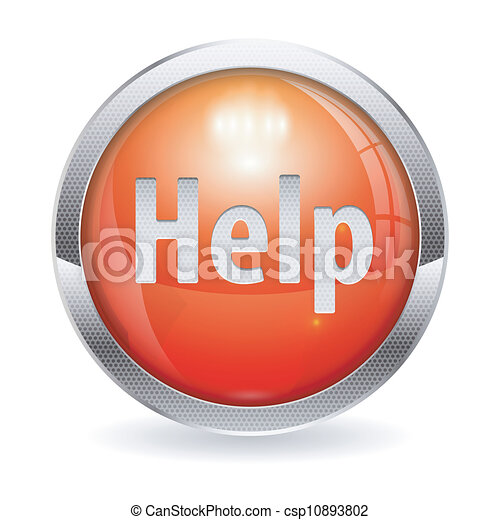 Red Button - csp10893802