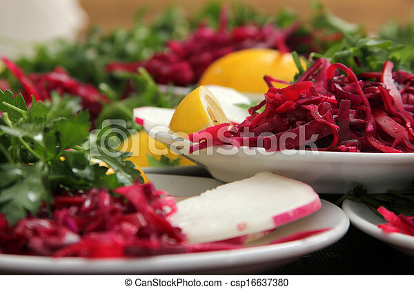 Red cabbage - csp16637380
