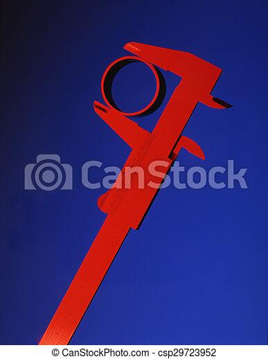 Red Callipers - csp29723952