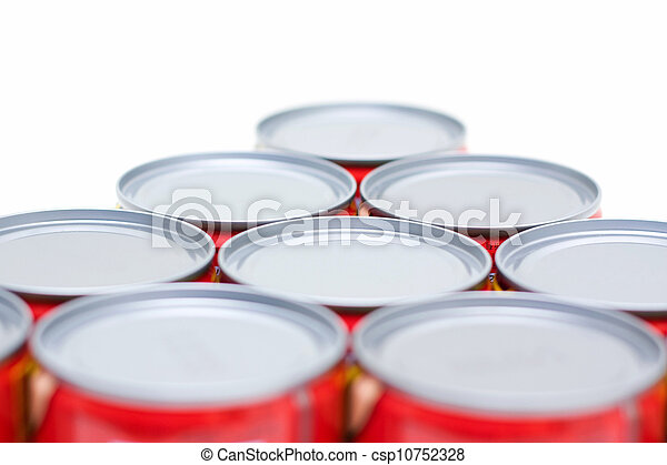 RED CANS - csp10752328
