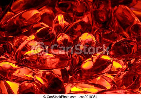Red Capsules - csp0918354