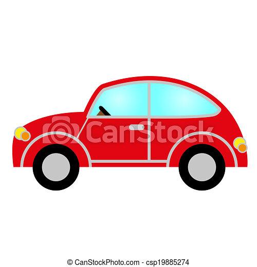 red car  - csp19885274