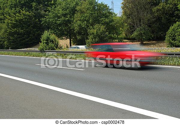 red car - csp0002478
