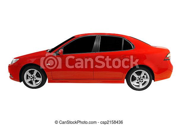 red car - csp2158436