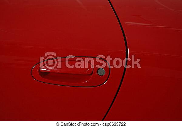 Red car - csp0633722