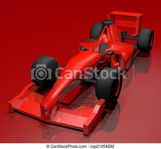 red car - csp21054292