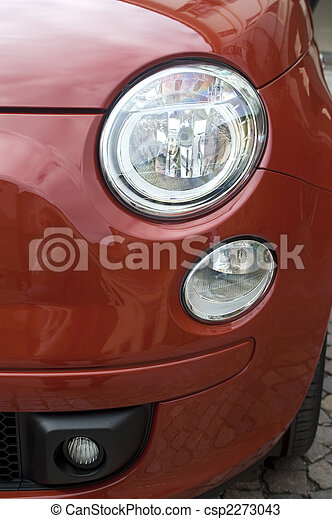 Red car - csp2273043