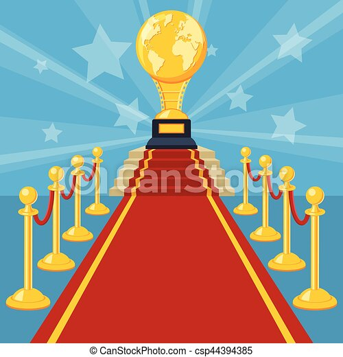 red carpet award - csp44394385